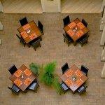 Restaurant top view