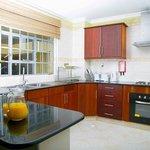 Kitchenette - Deluxe one Bedroom Luxury apartments
