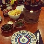 awesome tapas & mussel pot!