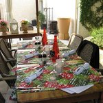 table d'hôtes.