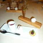 Part of the dessert course.