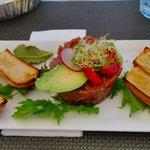 Amazing tuna tartare