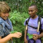 Guide Boni Mdoe -a cameleon specialist