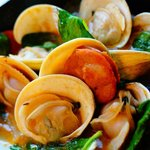 Linguica and Little neck clams
