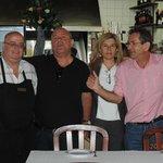 Com o proprietário, Sr. Joaquim Barrela.