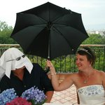 Tropical rainstorm stops play but what a laugh we had
