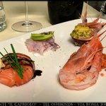 Degustazione crudité di mare, menù estivo 2014