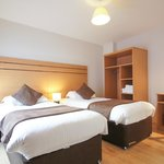 Twin bedroom (superior one-bed, 2-bed, 3-bed)