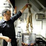 La cuisson du poulpe