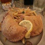 Crawfish Pies - Louisiana crawfish tails, jasmine rice, veggies, seasonings fried in pastry