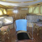 inside the party boat