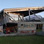 Café-bistro, Terrasse, Parc de l'Aventure Basque en Amérique
