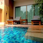 Room with pool
