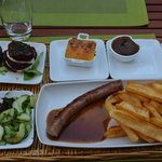 Saussage main course