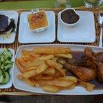 Chicken legs main course