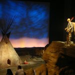 Plains Indians diarama