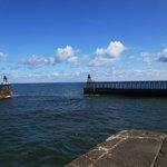 Whitby pier love it!