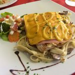 Restaurante Cinco Sentidos.