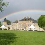 Magische Momente beim Chateau