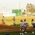 field crew and dancers