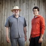 Our winemakers, Larry Mawby and Mike Laing.