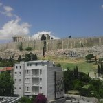 View of Acropolis and Parthenon
