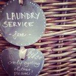 Free laundry service for cyclist's sportswear - bike hotel Bormio