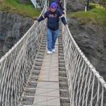 Negotiating Rope Bridge
