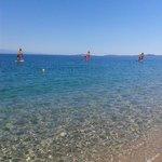 Spiaggia mare e vento