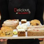 Our lovely afternoon tea at Delicious Bury