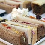 Sandwiches from our afternoon tea selection