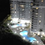 Pools at night from Unit 1905