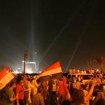 the revolutionary protests, tahrir square