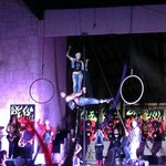 Entertainment- rock band acrobatic circus