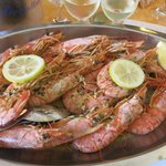 Deep frozen kingprawns without side dishes