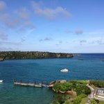 天气晴好的时候,海景超级美