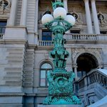 Lamppost int Front of The Library of Congress