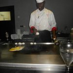 Our Cook at Hibachi