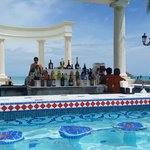 windsor pool swim up bar