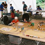 Lots of toy trains, face painting, temporary tattoos and more...