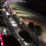 Copacabana beach from Pestana roof