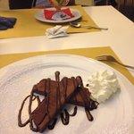 Mattonella di semifreddo al cioccolato