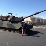 Abrams M1 on static display