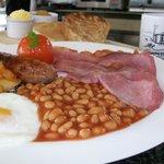 The famous Guardian Breakfast