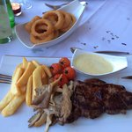 Sirloin steak and all the trimmings :o)