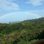 Rainbow  - view from room's terrace