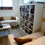 One of the upstairs reading areas.