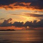 Sunset over St Ives