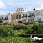 Außenansicht Hotel von Strandseite