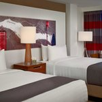 Newly Re-Designed Double Queen Guest Room